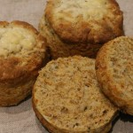 cheese and spelt scones